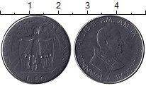 Изображение Монеты Ватикан 50 лир 1987 Медно-никель XF