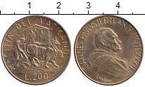 Изображение Монеты Ватикан 200 лир 1982 Медь XF