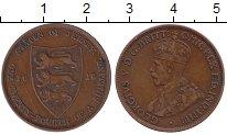 Изображение Монеты Остров Джерси 1/24 шиллинга 1915 Медь XF