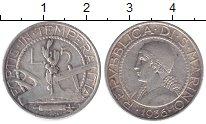 Изображение Монеты Сан-Марино 5 лир 1936 Серебро XF