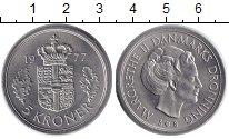 Изображение Монеты Дания 5 крон 1977 Медно-никель XF