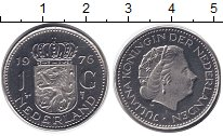Изображение Монеты Нидерланды 1 гульден 1976 Медно-никель UNC-