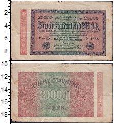 Изображение Боны Веймарская республика 20000 марок 1923  VF