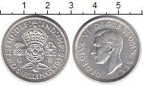 Изображение Монеты Великобритания 2 шиллинга 1938 Серебро XF