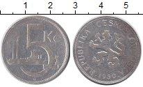 Чехословакия 5 крон 1930 Серебро