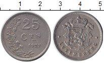 Изображение Монеты Люксембург 25 сантим 1927 Медно-никель XF
