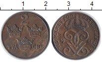 Изображение Монеты Швеция 2 эре 1941 Медь XF