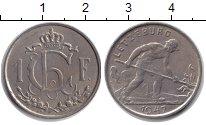 Изображение Монеты Люксембург 1 франк 1947 Медно-никель XF