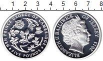 Изображение Монеты Остров Джерси 5 фунтов 2013 Серебро Proof