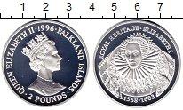 Изображение Монеты Фолклендские острова 2 фунта 1996 Серебро Proof