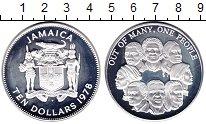 Изображение Монеты Ямайка 10 долларов 1978 Серебро Proof-