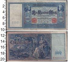 Изображение Банкноты Германия 100 марок 1910  VF