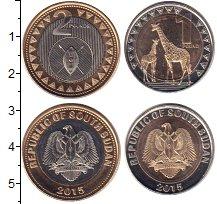 Изображение Наборы монет Судан 1 и 2 фунта, 2015 Биметалл UNC В наборе 2 монеты но