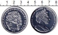 Изображение Монеты Виргинские острова 10 долларов 2008 Серебро Proof Елизавета II. Король