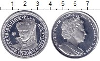 Изображение Монеты Виргинские острова 10 долларов 2008 Серебро Proof `Елизавета II. Корол