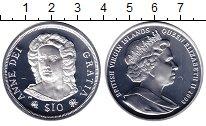 Изображение Монеты Виргинские острова 10 долларов 2008 Серебро Proof Елизавета II. Короле