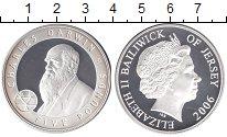 Изображение Монеты Остров Джерси 5 фунтов 2006 Серебро Proof-