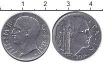 Изображение Монеты Италия 20 сентесимо 1940 Сталь UNC-