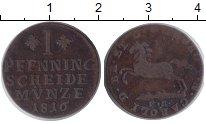 Изображение Монеты Брауншвайг-Вольфенбюттель 1 пфеннинг 1816 Медь VF