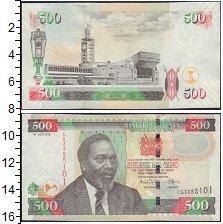 Изображение Боны Кения 500 шиллингов 0  XF Первый Президент Мзе