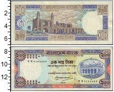 Изображение Банкноты Бангладеш 100 так 0  XF