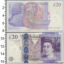 Изображение Банкноты Великобритания 20 фунтов 0  XF