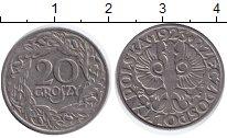 Изображение Барахолка Польша 20 грошей 1923 Медно-никель F