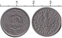 Изображение Барахолка Польша 10 грошей 1923 Медно-никель Proof