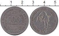Изображение Барахолка Западно-Африканский Союз 100 франков 1979 Медно-никель F