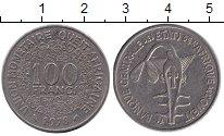 Изображение Барахолка Западно-Африканский Союз 100 франков 1978 Медно-никель F