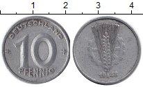 Изображение Барахолка ГДР 10 пфеннигов 1948 Алюминий F