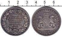 Изображение Монеты Бремен 1 талер 1871 Серебро XF Победный талер.
