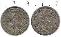 Изображение Монеты Австрия 3 крейцера 1686 Серебро UNC-