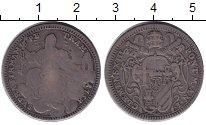 Изображение Монеты Ватикан 2 джулио 1758 Серебро VF