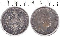 Изображение Монеты Шварцбург-Рудольфштадт 1 талер 1865 Серебро XF