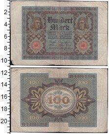 Изображение Банкноты Германия 100 марок 1920  VF Сгибы
