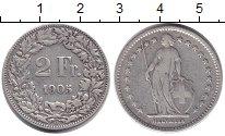 Изображение Монеты Швейцария 2 франка 1905 Серебро VF