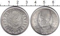 Монета Египет 10 пиастр Серебро 1939 UNC- фото