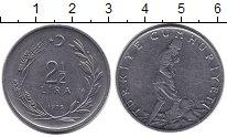 Изображение Монеты Турция 2 1/2 лиры 1975 Неопределено XF