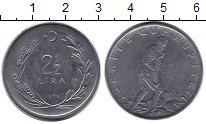 Изображение Монеты Турция 2 1/2 лиры 1976 Неопределено XF