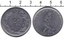 Изображение Монеты Турция 2 1/2 лиры 1977 Неопределено XF