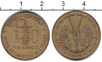Изображение Монеты Западная Африка 10 франков 1971 Медь XF