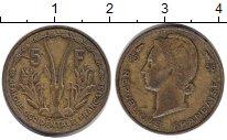 Изображение Монеты Центральная Африка 5 франков 1956 Медь XF
