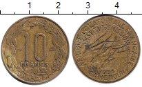 Изображение Монеты Камерун 10 франков 1938 Медь XF