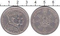 Изображение Монеты Пруссия 1 талер 1861 Серебро XF
