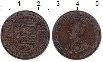 Изображение Монеты Остров Джерси 1/24 шиллинга 1926 Медь