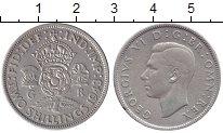 Изображение Монеты Великобритания 2 шиллинга 1943 Серебро XF Георг VI