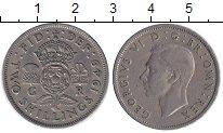 Изображение Монеты Великобритания 2 шиллинга 1949 Медно-никель XF