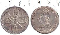 Изображение Монеты Великобритания 1 флорин 1887 Серебро UNC-
