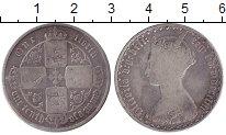 Изображение Монеты Великобритания 1 флорин 1853 Серебро  Виктория.